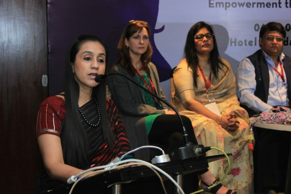 women2 - US Investor Holly Flanagan TiEs Indian Women To Their Entrepreneurial Dreams