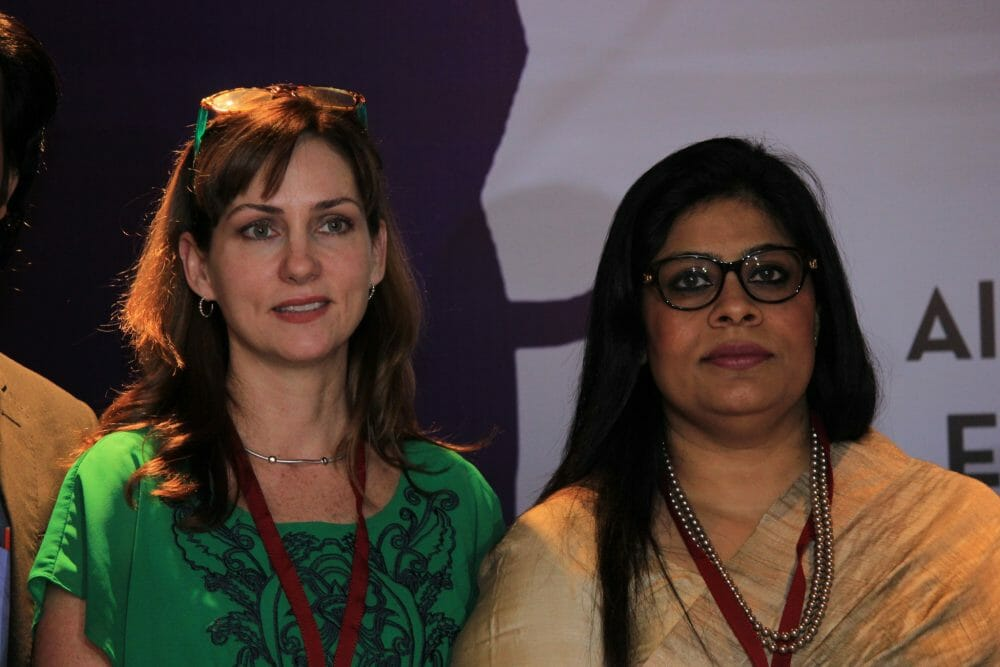 women3 - US Investor Holly Flanagan TiEs Indian Women To Their Entrepreneurial Dreams